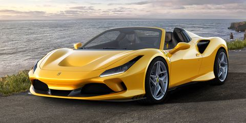 Ferrari F8 Spider Is the 710-HP Tributo Plus Wind in Your Hair