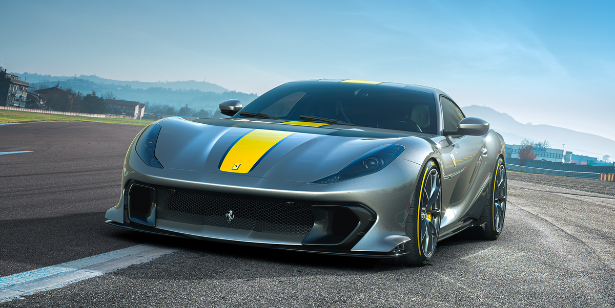 Ferrari Unveils Its 812 Superfast Special Edition