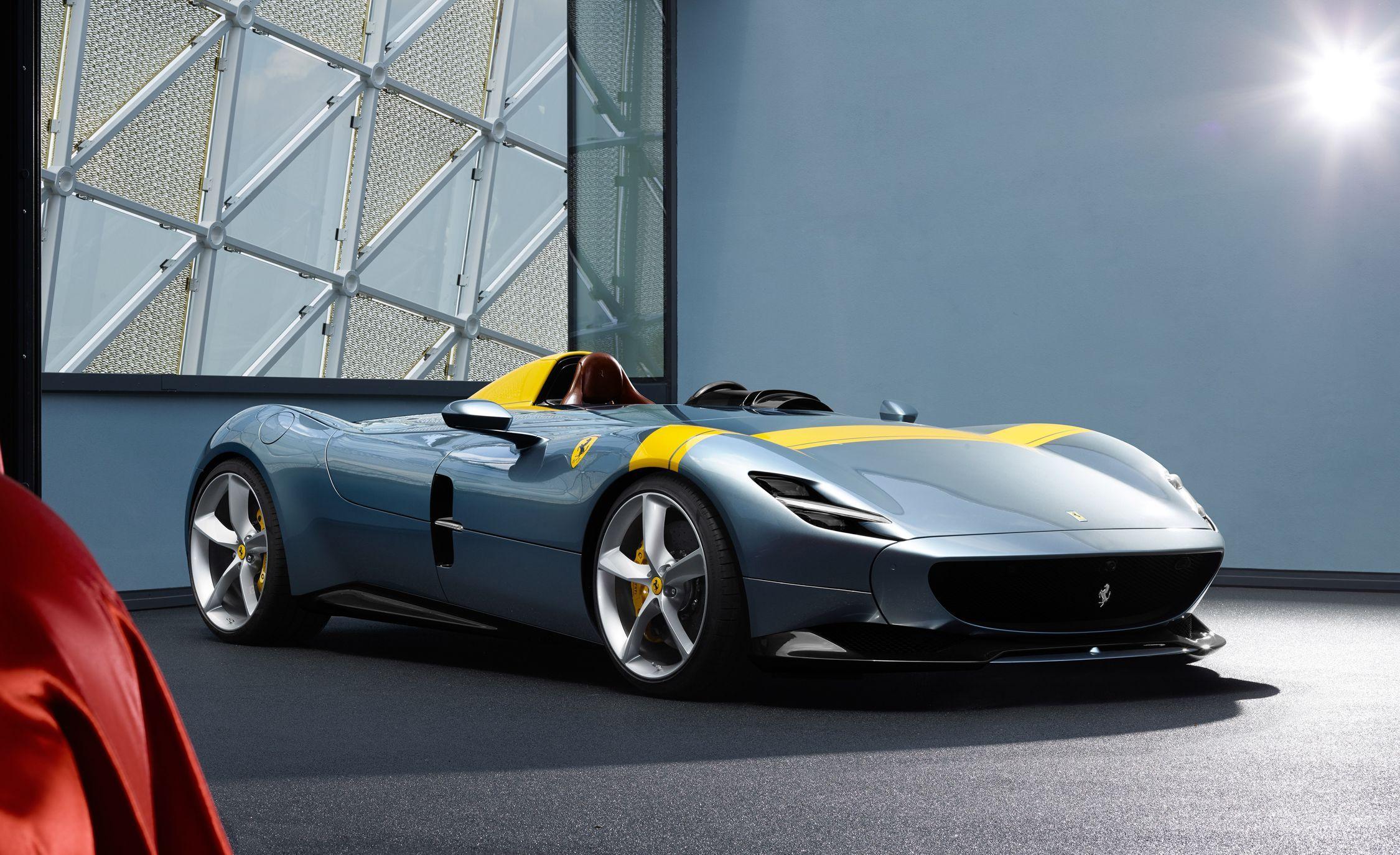 ferrari monza sp1 and sp2 speedster is an instant classicimage