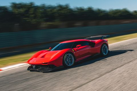 The Ferrari P80/C Is a Track-Only Homage to 1960s Prototypes