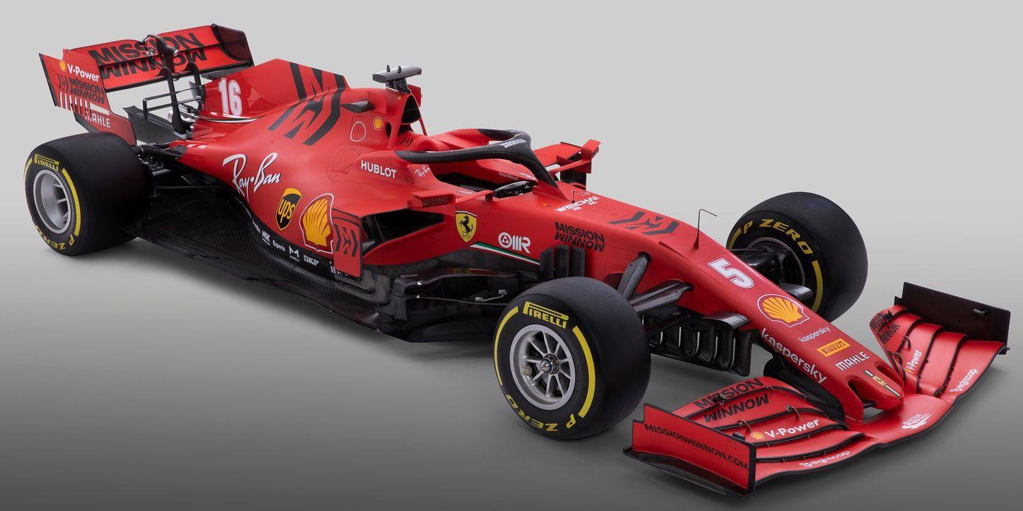 F1 El Ferrari Sf1000 Al Detalle Todas Las Fotos