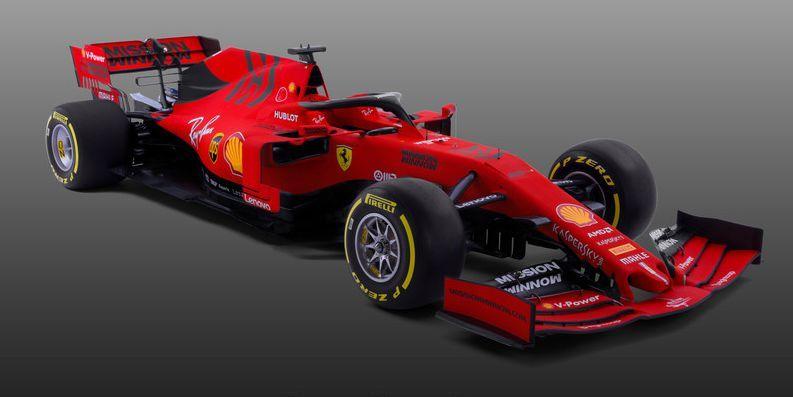 Ecco tutte le macchine della Formula 1 2019