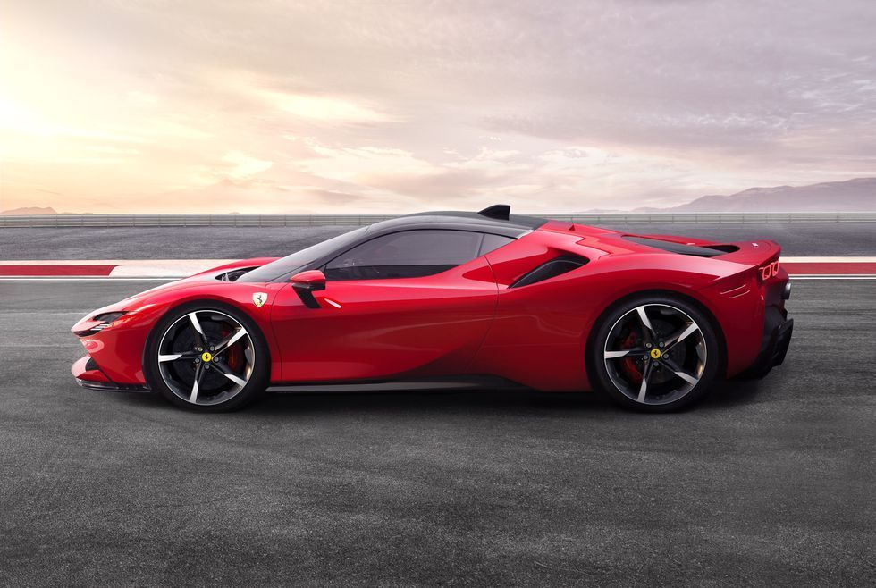 This Is the SF90 Stradale, The Most Powerful Ferrari Ever