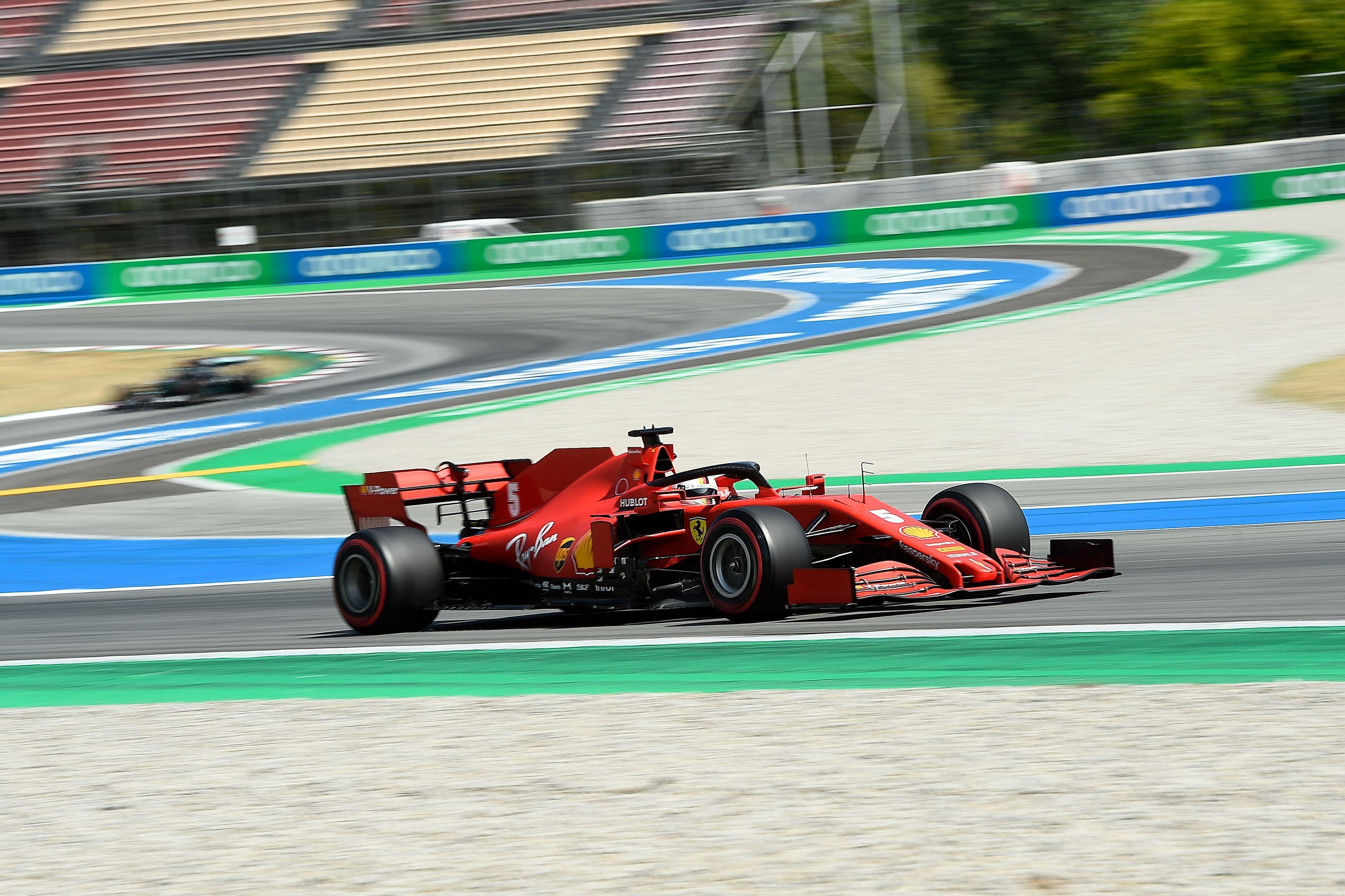 F1: Destacada actuación de Vettel para ser el piloto del día