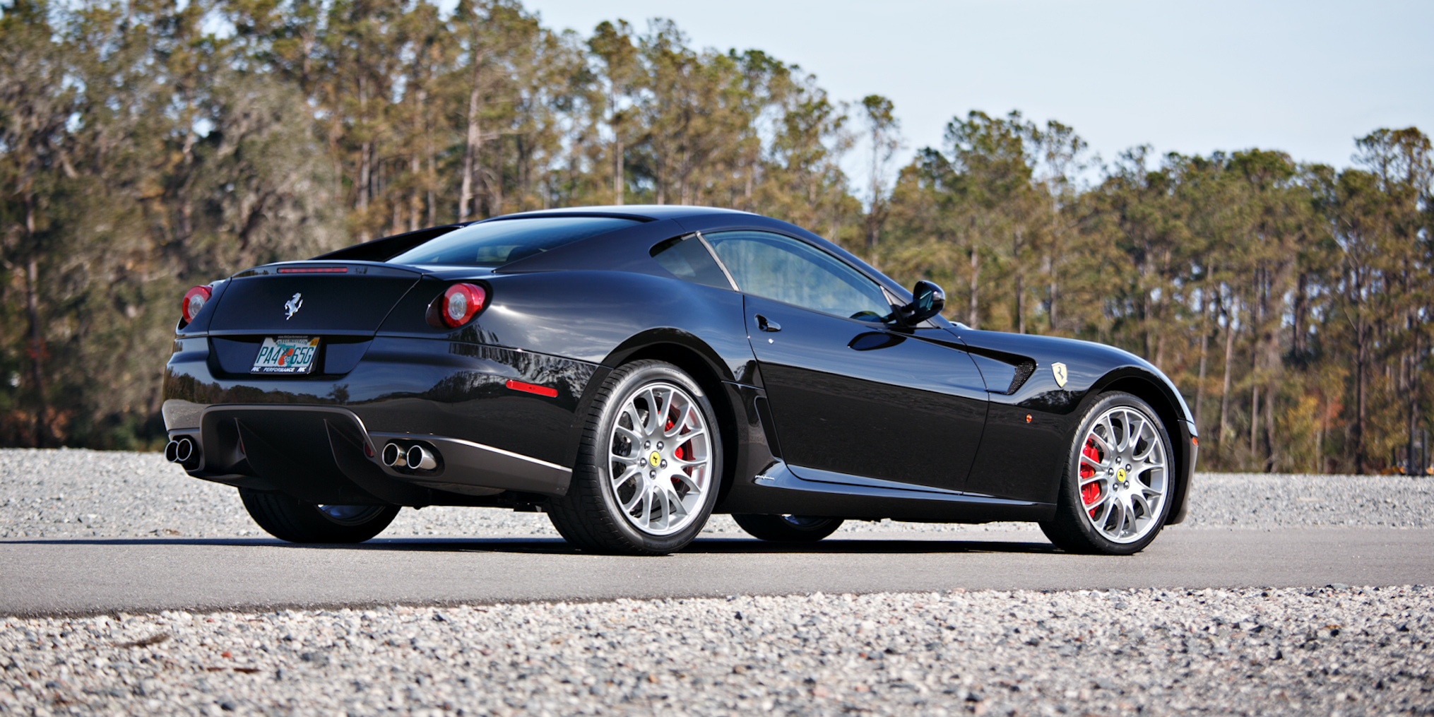 This Ultra Rare Six Speed Ferrari 599 Gtb Fiorano Was Once Owned By Cj Wilson