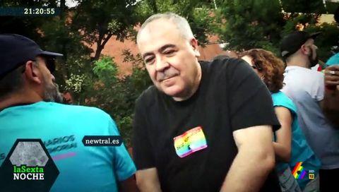 El baile de Ferreras durante el Orgullo en Madrid