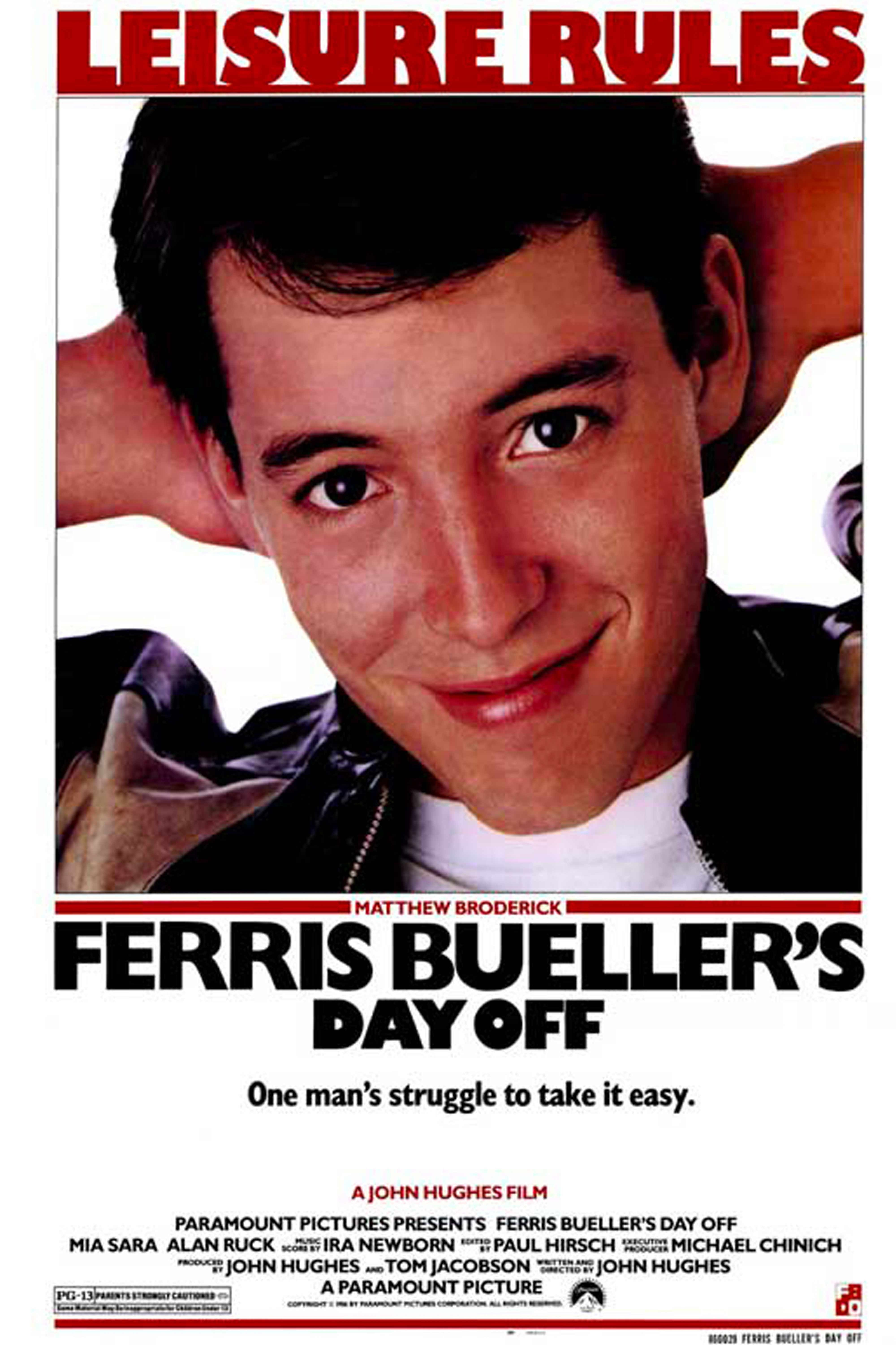 "Watch Now Summer Vibes: ""Sick days,"" borrowed Ferraris, spontaneous musical parades Favorite Quote: Cameron (Alan Ruck): ""It is his love. It is his passion."" Ferris (Matthew Broderick): ""It is his fault he didn't lock the garage."""