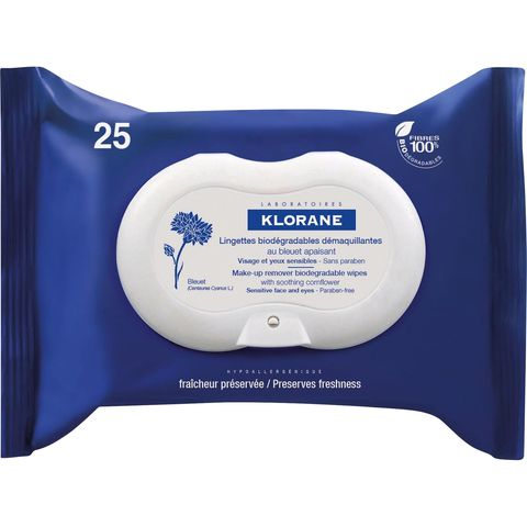Klorane Make Up Remover Wipes - festival beauty