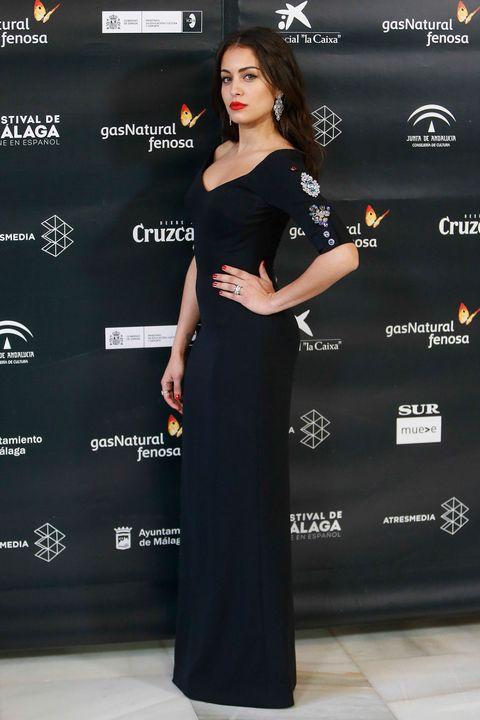 Hiba Abouk en el Festival de Málaga