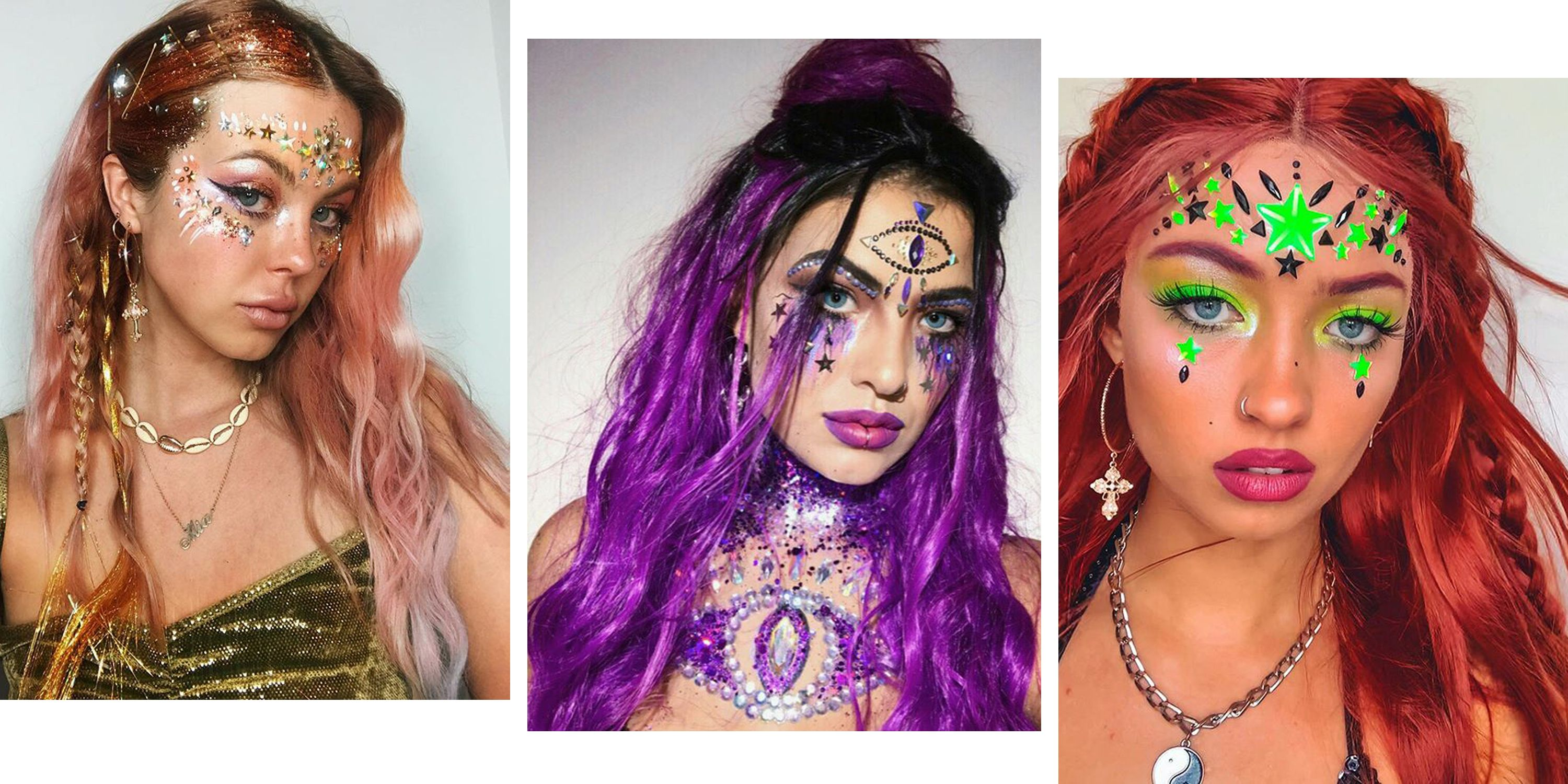 8 insane festival beauty looks you'll want to try this summer
