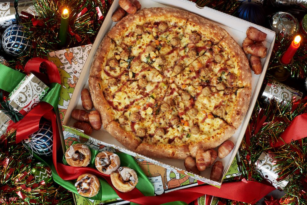 Papa John's Christmas Dinner Pizza Will Have You Feeling Festive In No Time