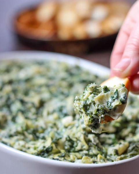 feta spinach artichoke dip
