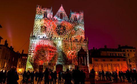 Festival holidays - La Fête des Lumières à Lyon