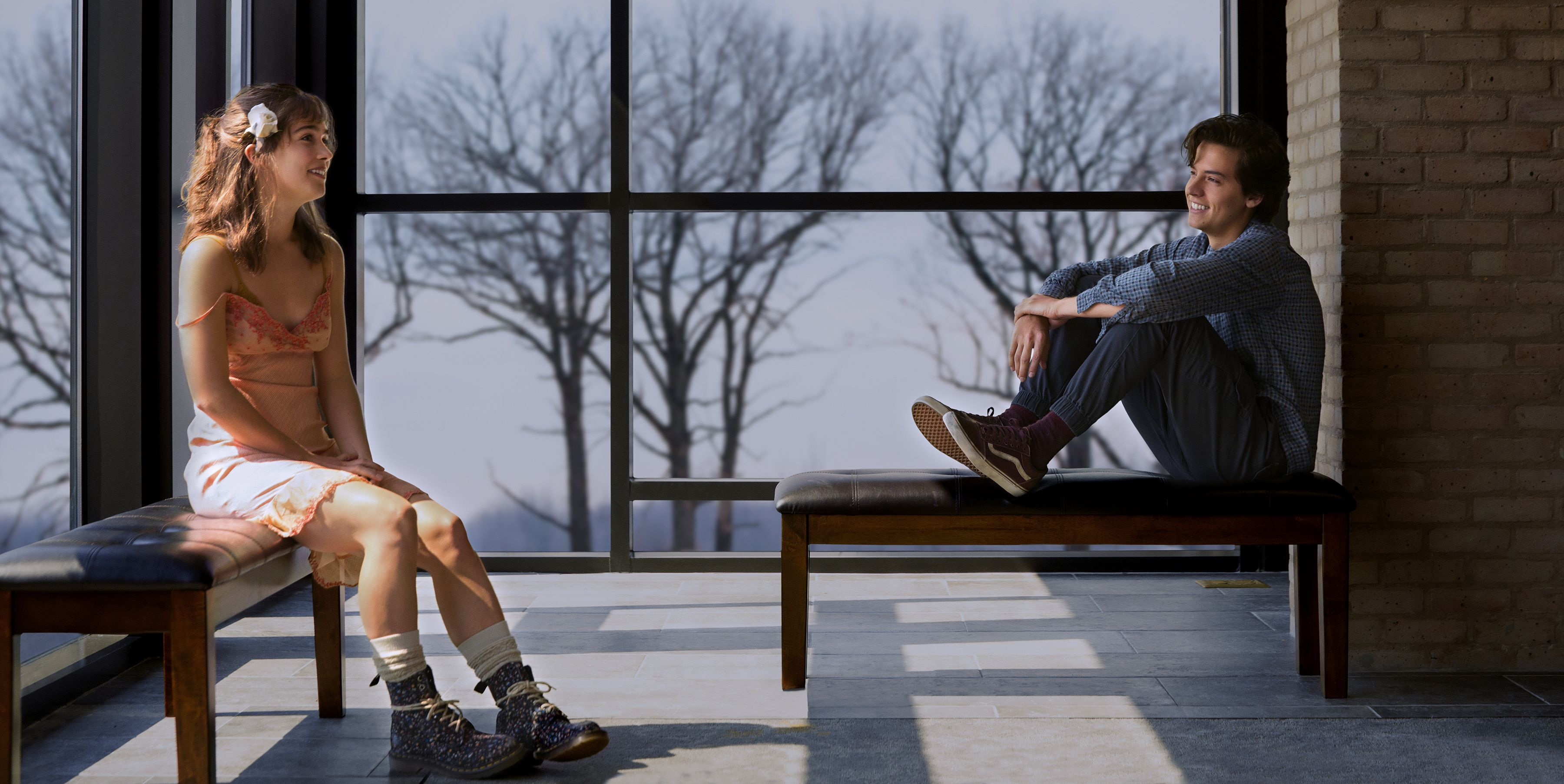 """The First Trailer for Cole Sprouse's New Film, """"Five Feet Apart,"""" is Here and It Looks Nothing Like """"Riverdale"""""""