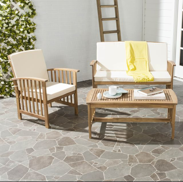 Furniture, Chair, Outdoor furniture, Coffee table, Table, Property, Patio, Outdoor table, Room, Wicker,