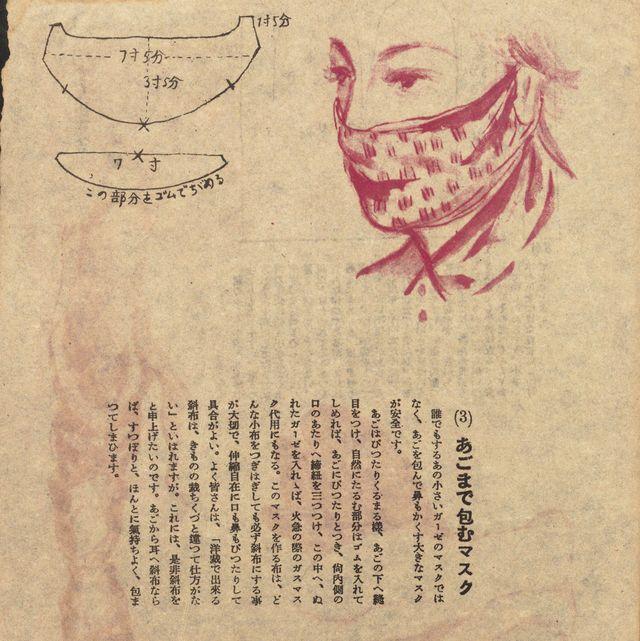マスク 手作りマスク