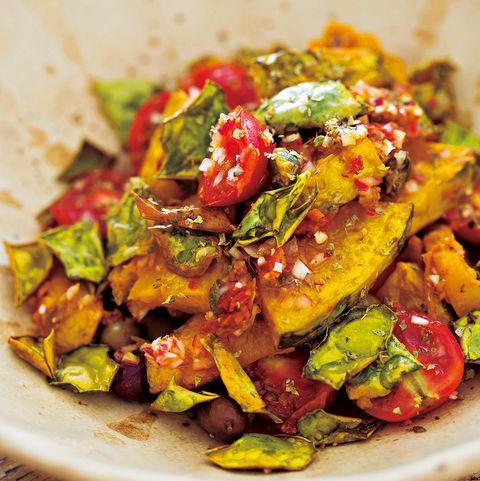 揚げ南瓜のサラダ