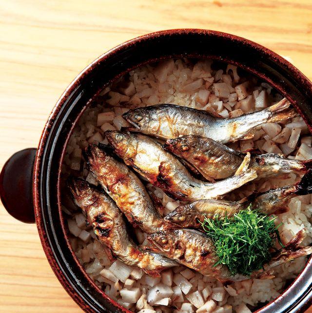 鮎の土鍋ご飯 天満橋 藤かわ