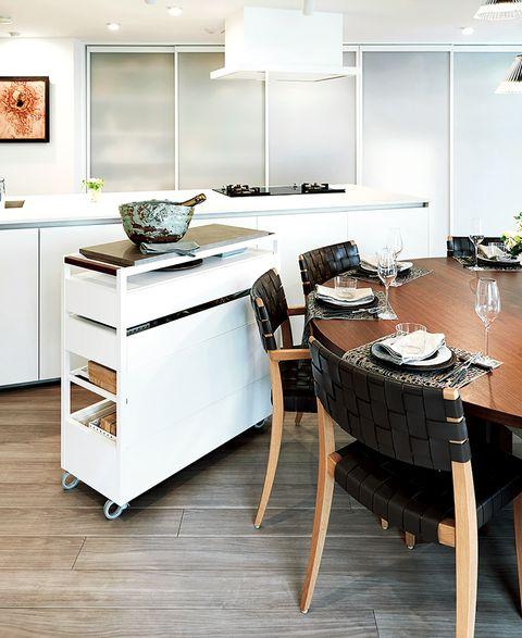 松田美智子さんの終のキッチンの作り方