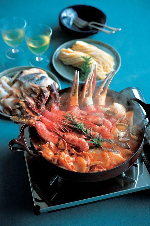 Food, Dish, Cuisine, Ingredient, Seafood, Meat, Recipe, Thai food, Cacciucco, Bouillabaisse,
