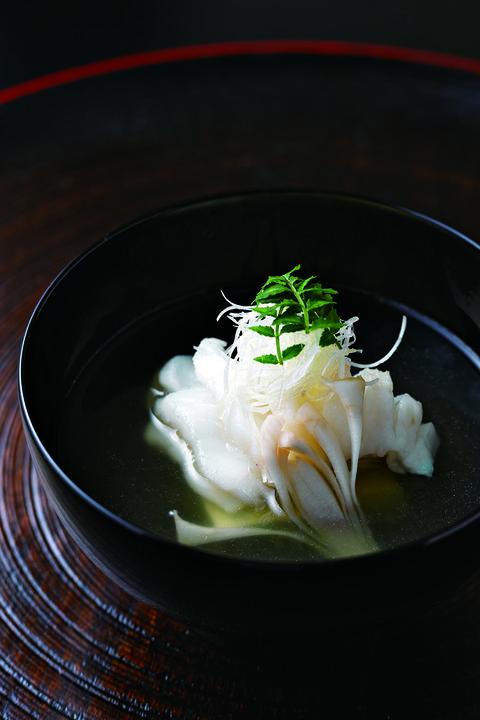 「虎魚の葛叩き」赤坂 渡なべ