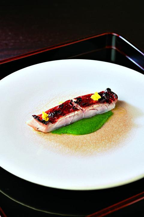 「金目鯛の塩麴焼き」山崎