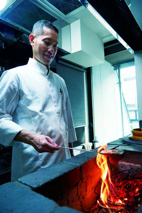 ご主人の中野寿孝さん 日本料理寿こう