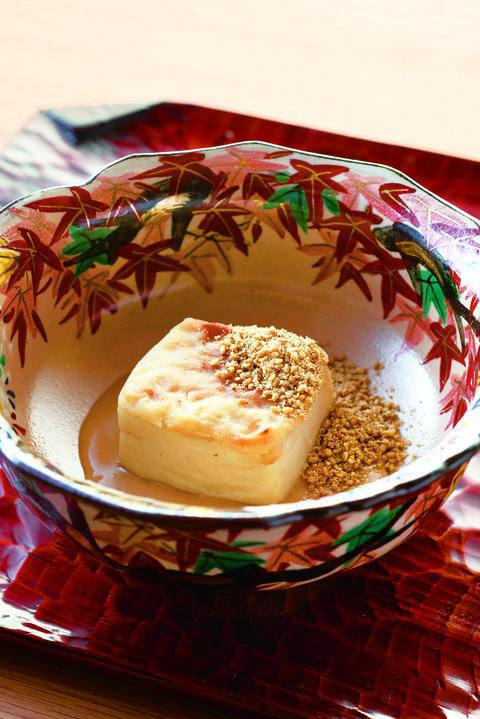 「焼き胡麻豆腐」日本料理 寿こう