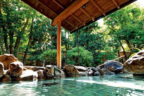 abba resorts izu 坐漁荘(ざぎょうそう) 本館の露天風呂