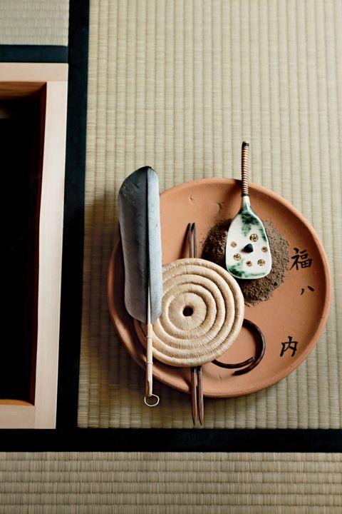 Spiral, Wood, Fashion accessory, Copper, Ornament, Circle, Jewellery,