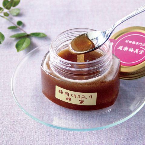 栄養価の高い蜂蜜と 強力な梅肉エキス 延楽梅花堂 梅肉エキス入り蜂蜜