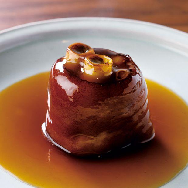 桃仙閣「豚足の醬油煮込み」
