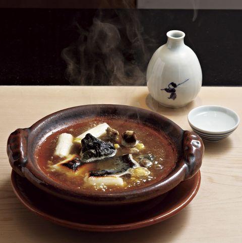 「鮨 かわの」のすっぽん鍋