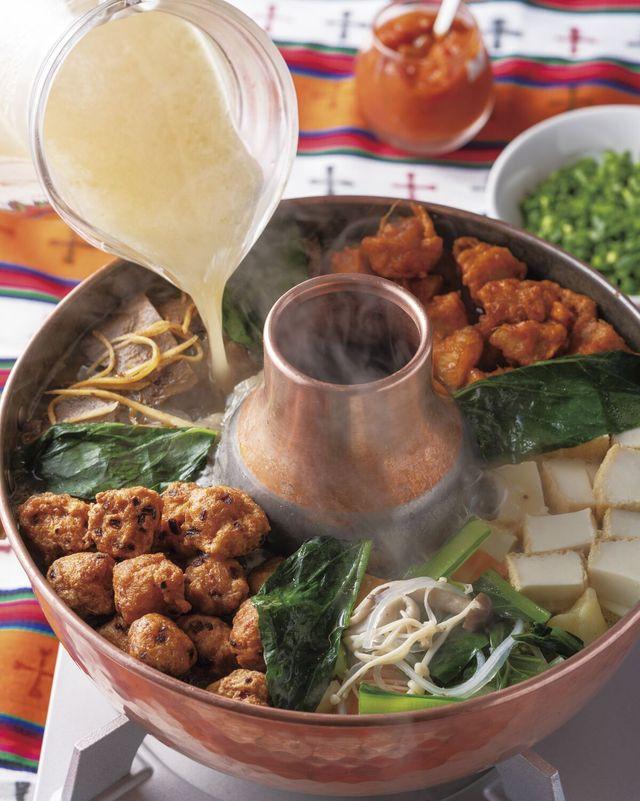 チベット・ギャコックのレシピ