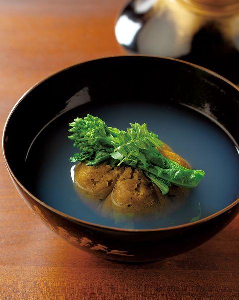 空花「牡蠣真薯のお椀」