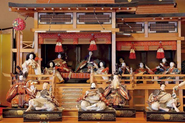 十三代中村宗哲さんの家のひな祭り