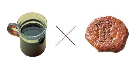 グラウベルコーヒーの「エチオピア」(左)× エシレ・パティスリー オ ブールの「エシレ フィユタ ージュ サンボリック」(右)