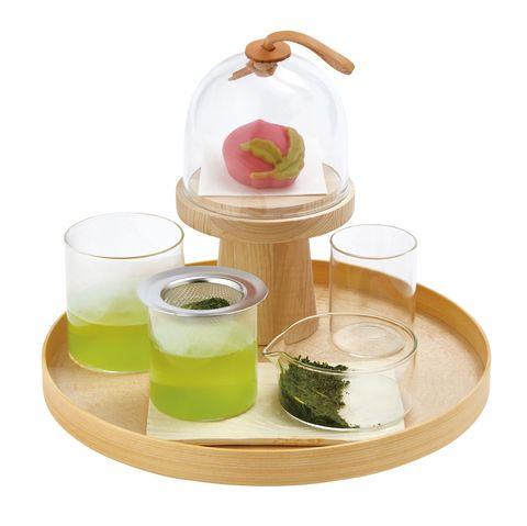 日本茶のコーディネート
