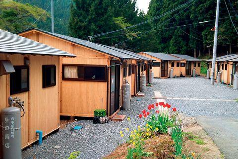 「life311」の被災地支援プロジェクト 木造の仮設住宅
