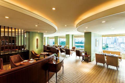 帝国ホテル 東京 インペリアル ラウンジ アクア 店内