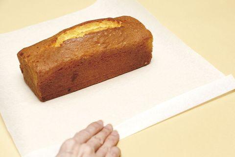 ケーキのラッピング