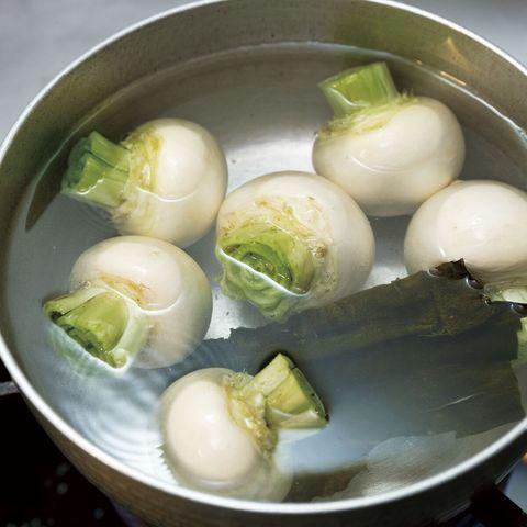 「野菜出汁」かぶの出汁
