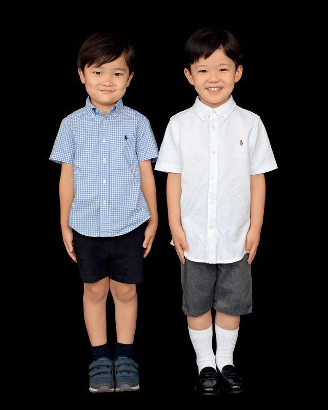 小川綜真さん(右)と小川大晴さん(左)