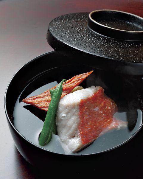 むろい 金目鯛の椀物