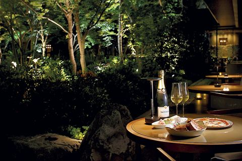 hotel the mitsui kyoto イブニングシャンパン