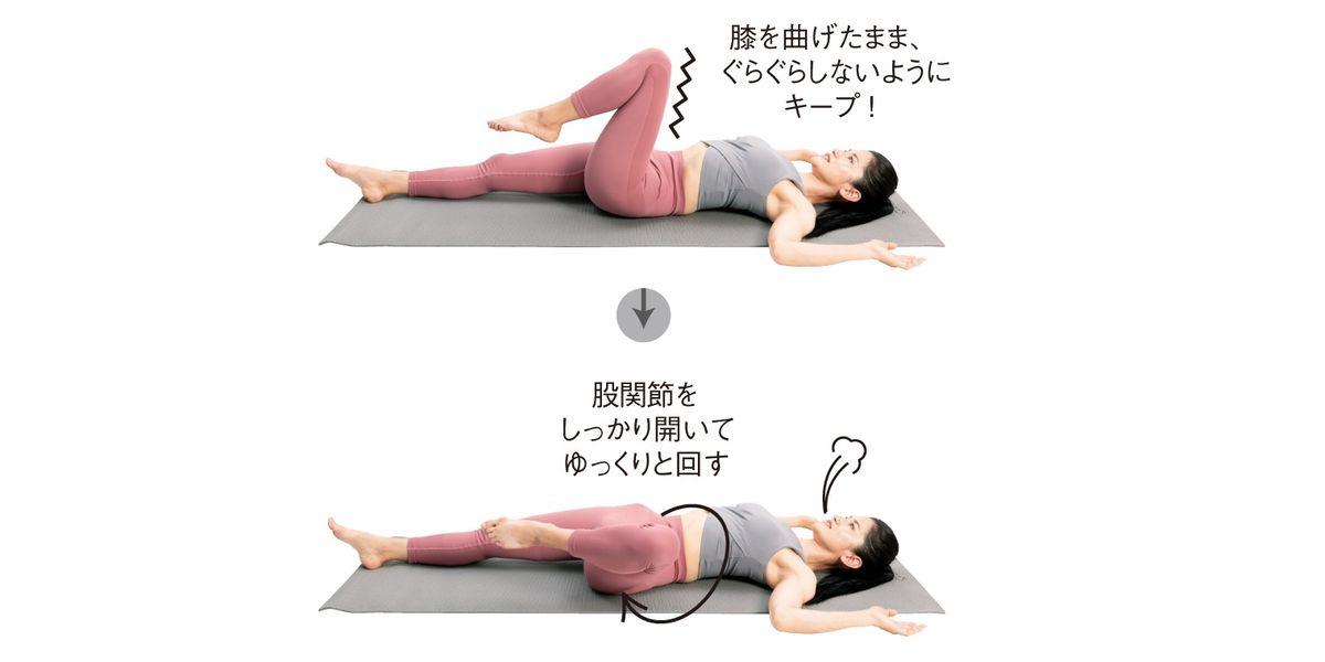 おしり筋を鍛えて冷え性&下腹ぽっこりを解消!骨盤矯正パーソナルトレーナーNaokoさんがレクチャー