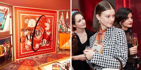 Hermes Carre Club, Hermès, 愛馬仕, 紐約, 紐約時裝週, 絲巾,Hermès Carré Club,愛馬仕絲巾,絲巾俱樂部