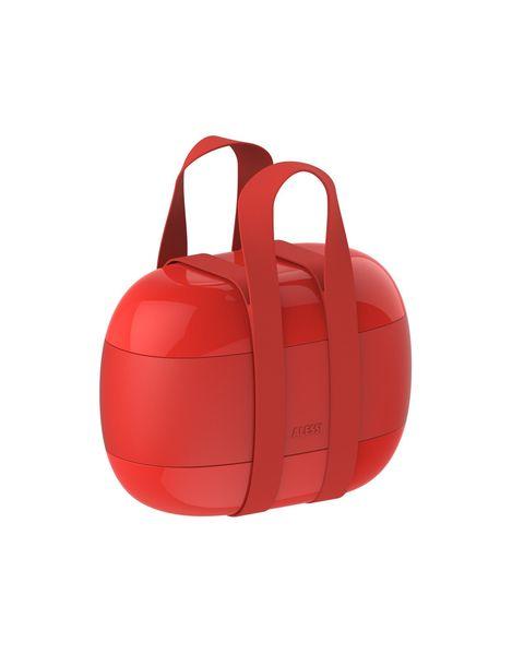 Fiambrera roja