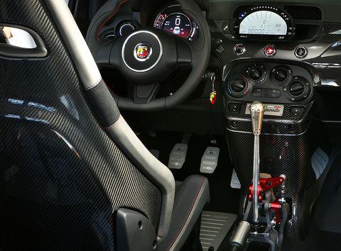 695 Biposto shifter