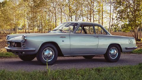abarth 2200 coupé by allemano